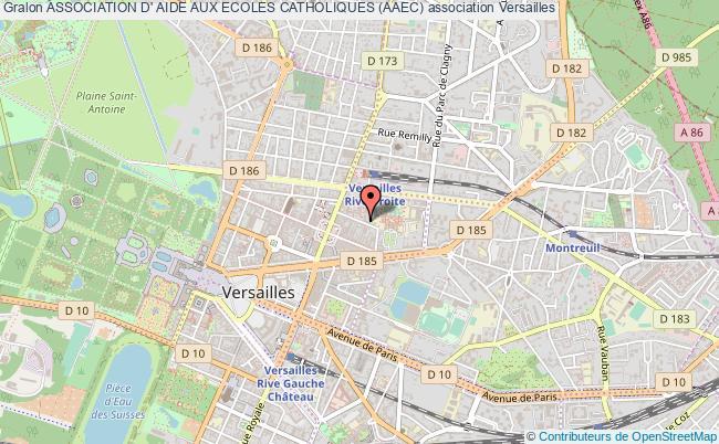 plan association Association D' Aide Aux Ecoles Catholiques (aaec)