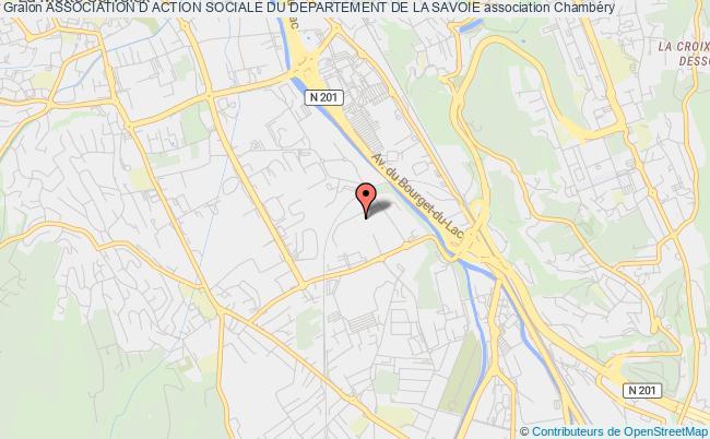 plan association Association D Action Sociale Du Departement De La Savoie
