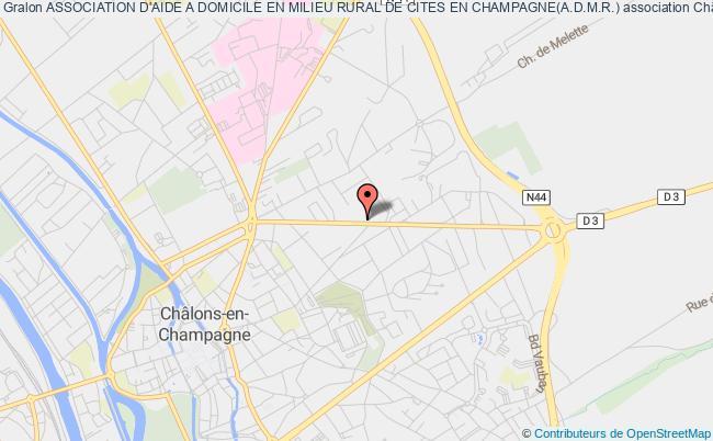 plan association Association D'aide A Domicile En Milieu Rural De Cites En Champagne(a.d.m.r.)