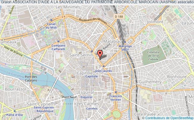 plan association Association D'aide A La Sauvegarde Du Patrimoine Arboricole Marocain (aaspam)