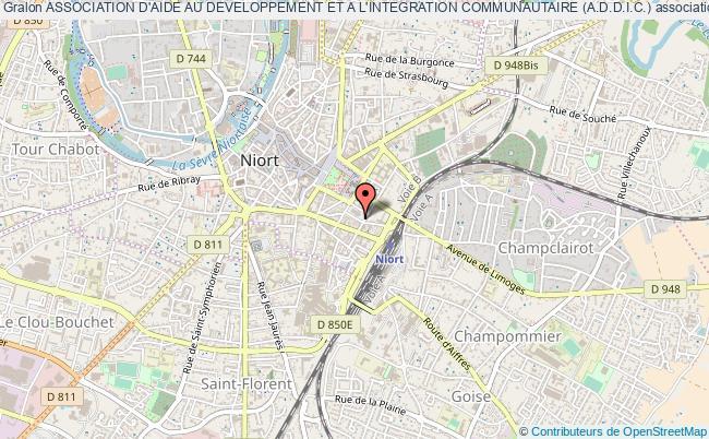 plan association Association D'aide Au Developpement Et A L'integration Communautaire (a.d.d.i.c.)