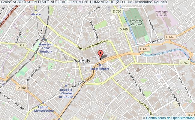 plan association Association D'aide Au Developpement Humanitaire (a.d.hum) Roubaix
