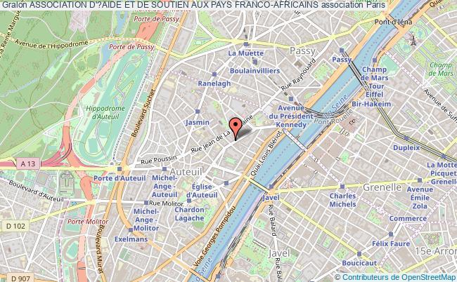 plan association Association D'?aide Et De Soutien Aux Pays Franco-africains