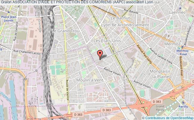 plan association Association D'aide Et Protection Des Comoriens (aapc)