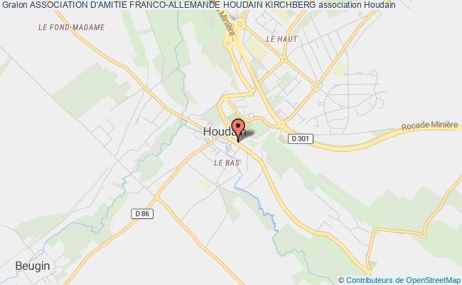 plan association Association D'amitie Franco-allemande Houdain Kirchberg
