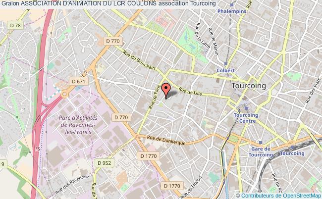 plan association Association D'animation Du Lcr Coulons