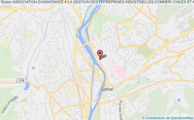 plan association Association D'assistance A La Gestion Des Entreprises Industrielles,commer- Ciales Et Artisanales - A.a.g.e.i.c.a
