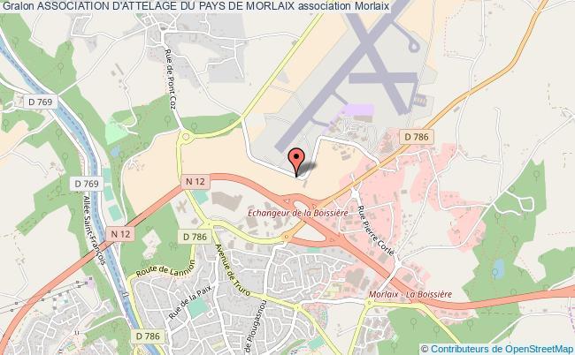 plan association Association D'attelage Du Pays De Morlaix Morlaix