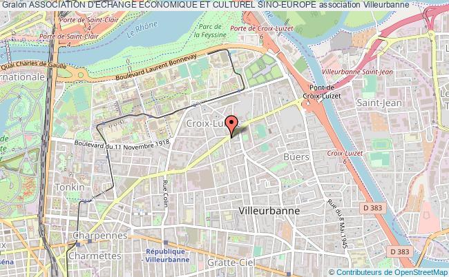 plan association Association D'echange Economique Et Culturel Sino-europe