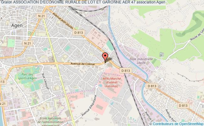 plan association Association D'economie Rurale De Lot Et Garonne Aer 47