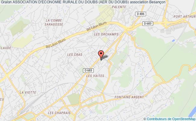 plan association Association D'Économie Rurale Du Doubs (aer Du Doubs)