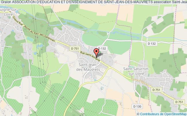 plan association Association D'education Et D'enseignement De Saint-jean-des-mauvrets