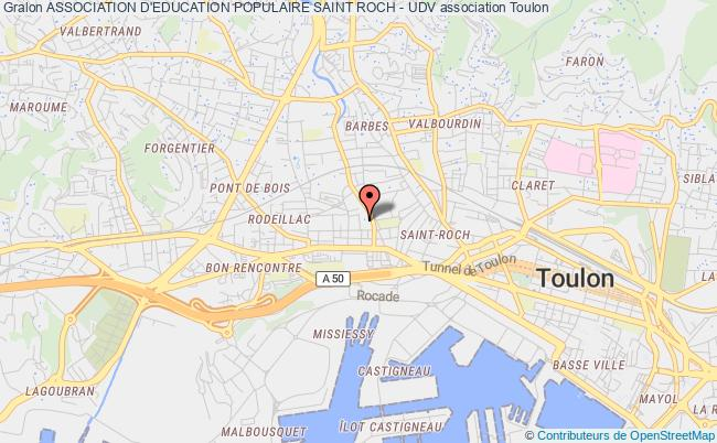 plan association Association D'education Populaire Saint Roch