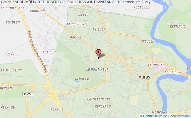 plan association Association D'education Populaire Skol Diwan An Alre
