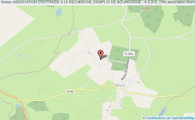 plan association Association D'entraide A La Recherche D'emploi De Bourgogne - A.e.r.e. (pa)