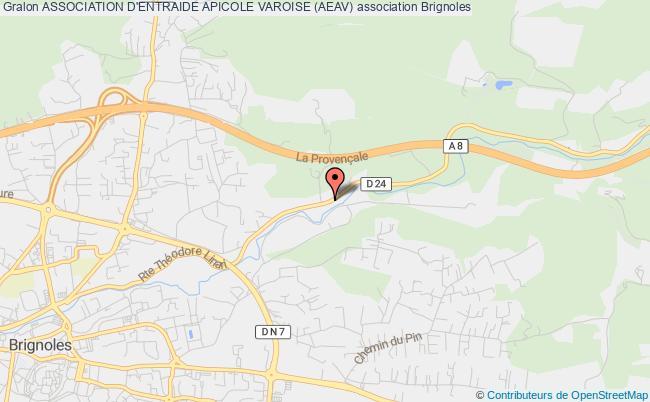 plan association Association D'entraide Apicole Varoise (aeav) Brignoles