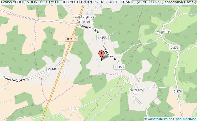 plan association Association D'entraide Des Auto-entrepreneurs De France (aeae Ou 2ae)