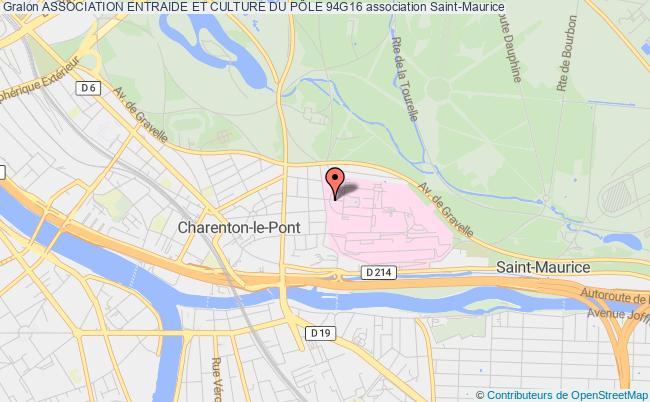 plan association Association D'entraide Et De Culture Du Xvieme Secteur Du Val De Marne