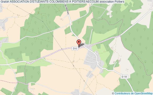plan association Association D'Étudiants Colombiens À Poitiers Aecol86