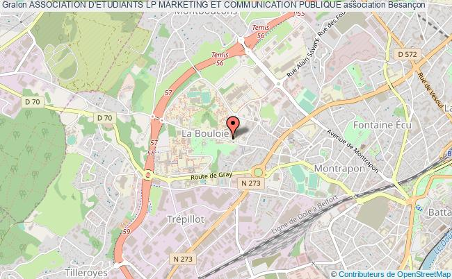 plan association Association D'etudiants Lp Marketing Et Communication Publique