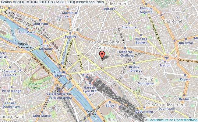 plan association Association D'idÉes (asso D'id) Paris