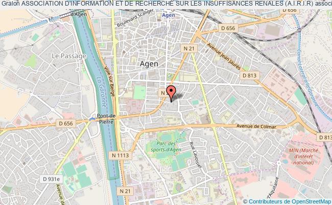 plan association Association D'information Et De Recherche Sur Les Insuffisances Renales (a.i.r.i.r)