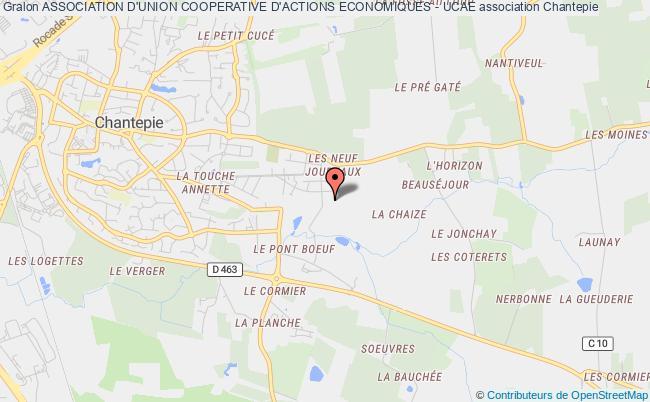 plan association Association D'union Cooperative D'actions Economiques - Ucae Rennes