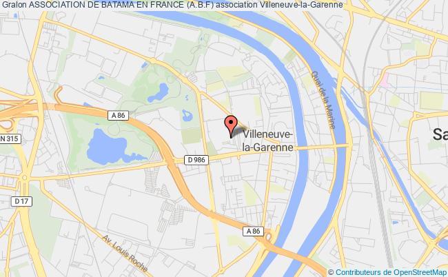 plan association Association De Batama En France (a.b.f)