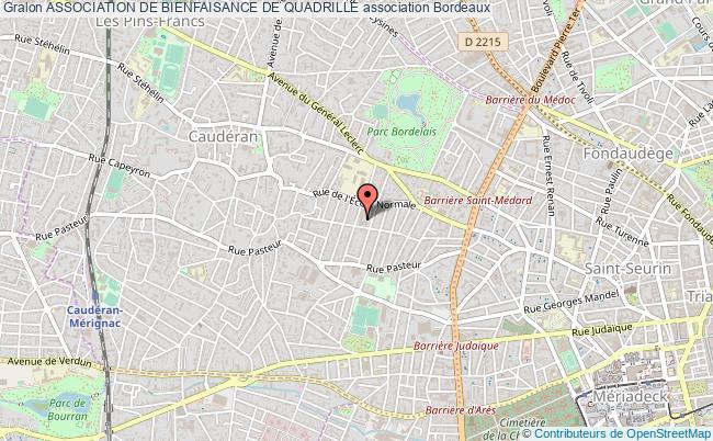 plan association Association De Bienfaisance De Quadrille Bordeaux