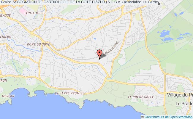 plan association Association De Cardiologie De La Cote D'azur (a.c.c.a.) Nice