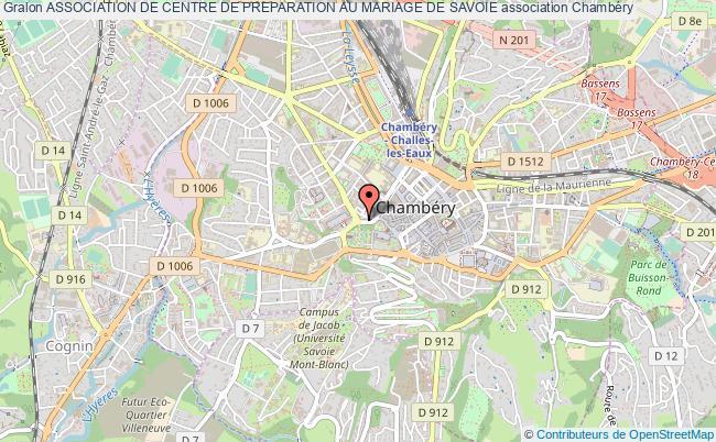 plan association Association De Centre De Preparation Au Mariage De Savoie
