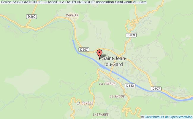 plan association Association De Chasse 'la Dauphinenque'