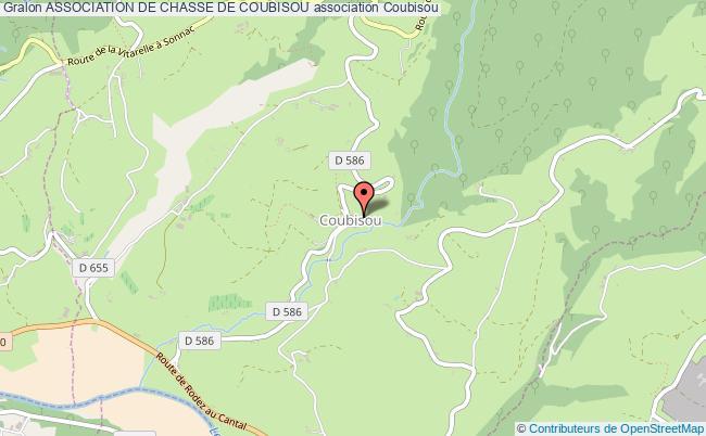 plan association Association De Chasse De Coubisou