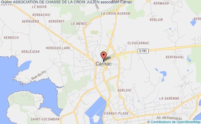 plan association Association De Chasse De La Croix Julien