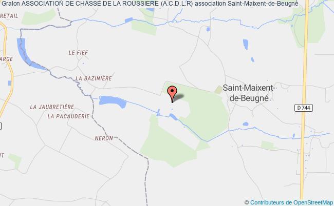 plan association Association De Chasse De La Roussiere (a.c.d.l.r)