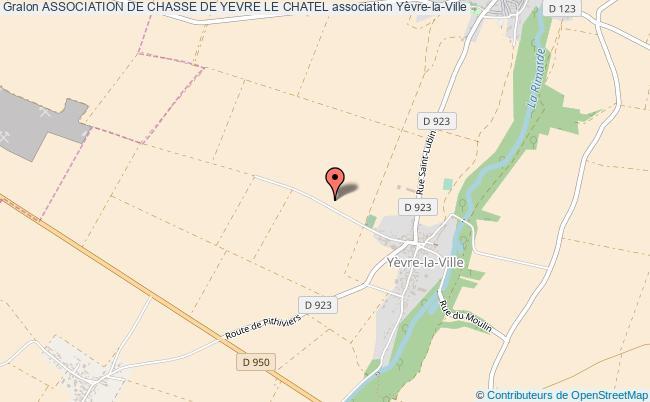 plan association Association De Chasse De Yevre Le Chatel