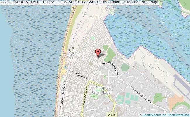 plan association Association De Chasse Fluviale De La Canche Le    Touquet-Paris-Plage