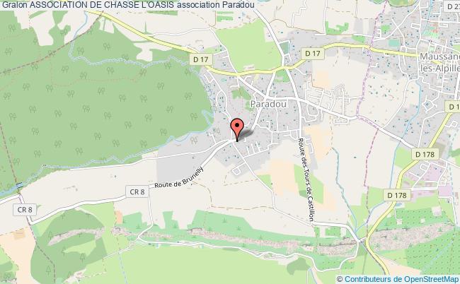 plan association Association De Chasse L'oasis