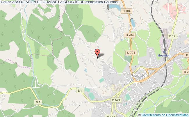 plan association Association De Chasse La Couchiere