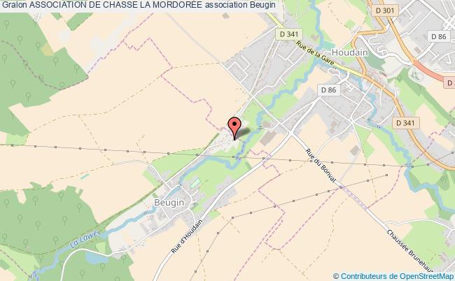 plan association Association De Chasse La MordorÉe