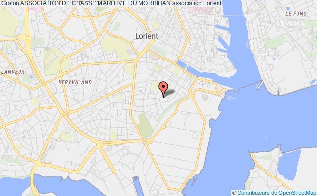 plan association Association De Chasse Maritime Du Morbihan