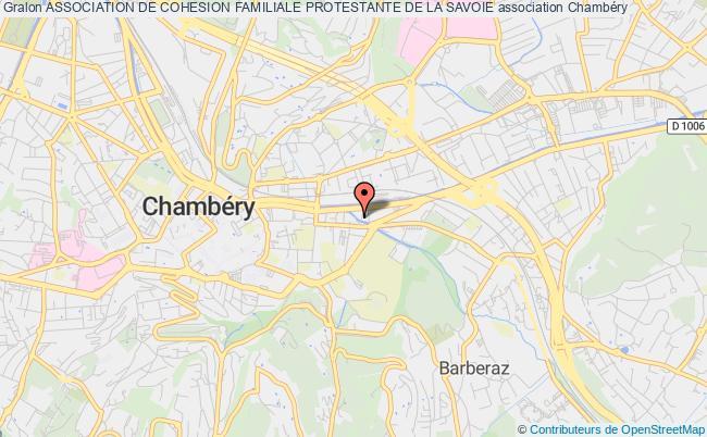 plan association Association De Cohesion Familiale Protestante De La Savoie
