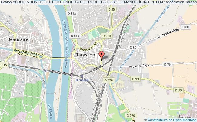 plan association Association De Collectionneurs De Poupees Ours Et Mannequins - 'p.o.m.'