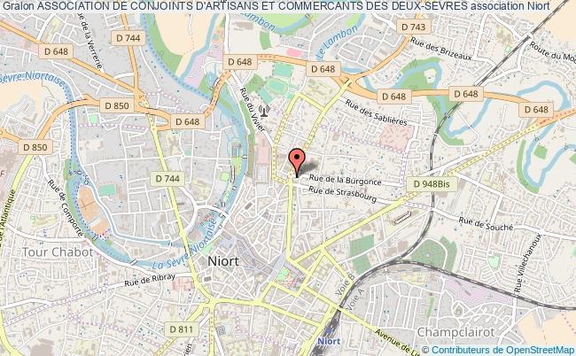 plan association Association De Conjoints D'artisans Et Commercants Des Deux-sevres