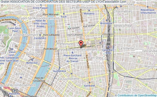 plan association Association De Coordination Des Secteurs Usep De Lyon