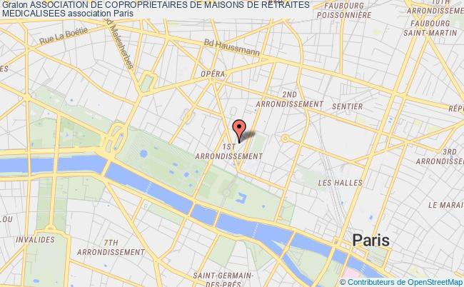 plan association Association De Coproprietaires De Maisons De Retraites  Medicalisees Roubaix