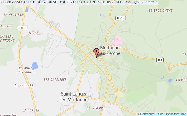 plan association Association De Course D'orientation Du Perche