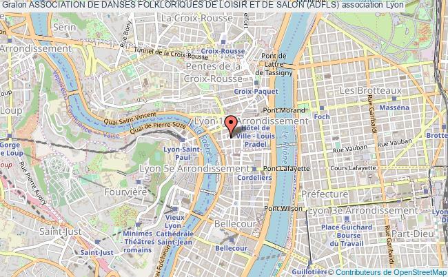 plan association Association De Danses Folkloriques De Loisir Et De Salon (adfls)