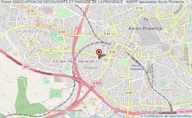 plan association Association De Decouverte Et Partage De La Provence   Adepp