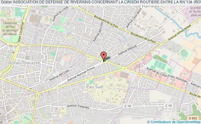 Carte Routiere Bordeaux Pau.Association De Defense De Riverains Concernant La Liaison